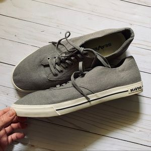 Men's SeaVees linen sneakers